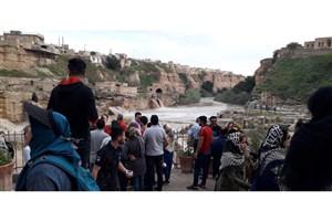 محوطه تاریخی آسیابهای شوشتر تا اطلاع ثانوی تعطیل شد