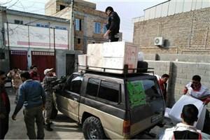 هدیه رهبر انقلاب به سیلزدگان گلستان/ارسال ۴هزار بسته لوازم خانگی