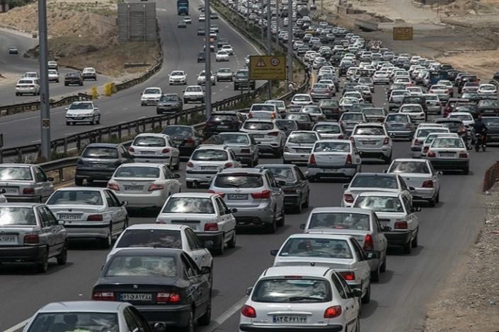 ترافیک در جاده دماوند-قائمشهر