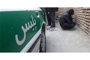 دستگیری سارق مسلح در شهرک اکباتان