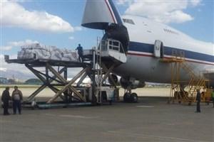 محموله اقلام امدادی و موادغذایی توسط نیروی هوایی ارتش به خوزستان ارسال شد