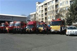 اعزام گروهی از آتشنشانان تهران به لرستان