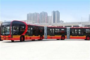 رونمایی از طویلترین اتوبوس برقی دنیا