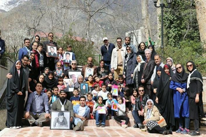 روز طبیعت در کنار خانواده اهدا کنندگان عضو