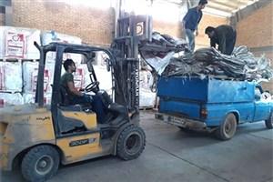 اختصاص ۵۰۰ تخته کیسه جانبو برای مهار سیلابهای اینچه برون و دالی برون گلستان
