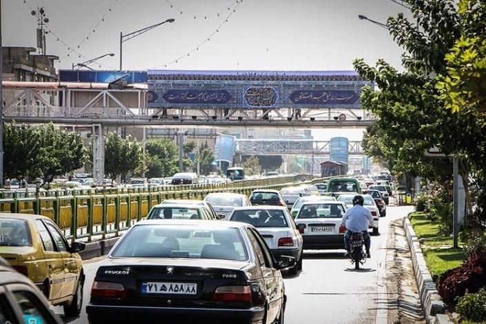 وضعیت معابر تهران