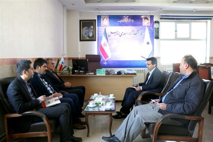 دیدار دکتر رسولی با رئیس نمایندگی وزارت خارجه استان اردبیل