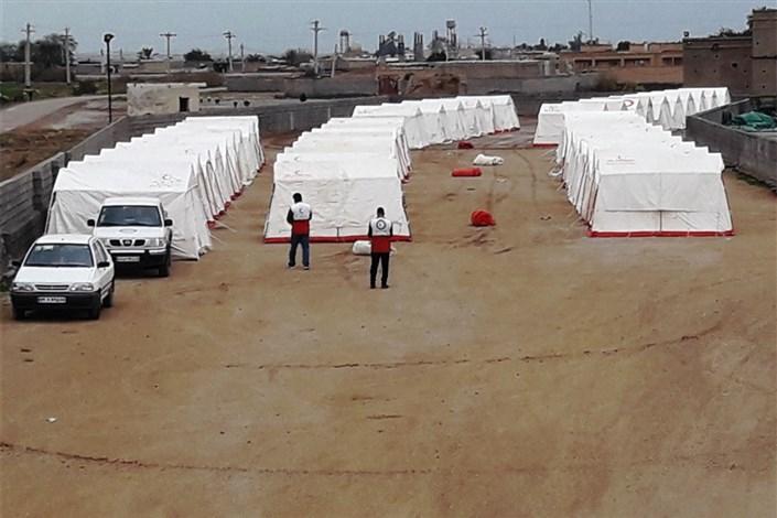 اسکان اضطراری ۴۰هزار نفر در خوزستان