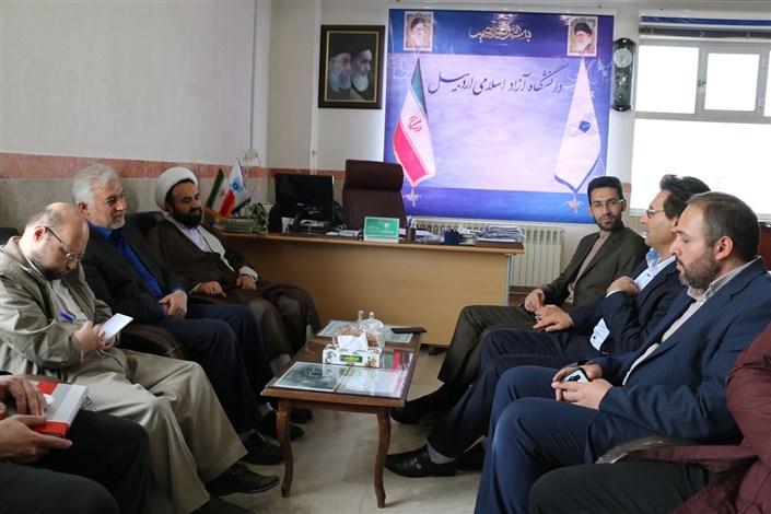 دیدار با مسئول بسیج دانشجویی استان اردبیل