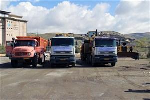 اعزام ماشینآلات سنگین و راهسازی واحدهای دانشگاه آزاد به استان سیلزده لرستان