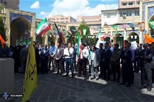 دانشجویان دانشگاه شریف تجمع کردند+ عکس
