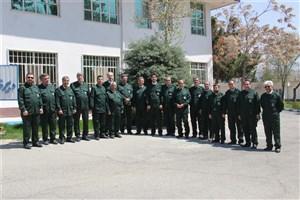اعضای هیأت رئیسه و شورای دانشگاه آزاد واحد کرج از سبزپوشان سپاه حمایت کردند