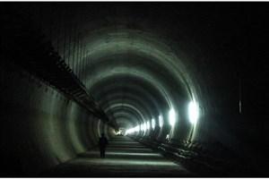 ریزش تونل مترو در تهران