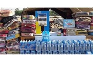 ارسال کمک های مردمی جمع آوری شده به مناطق سیل زده استان گلستان