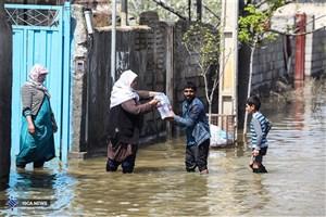 """کمکهای """"یونیسف"""" به دست سیلزدگان گلستان رسید"""