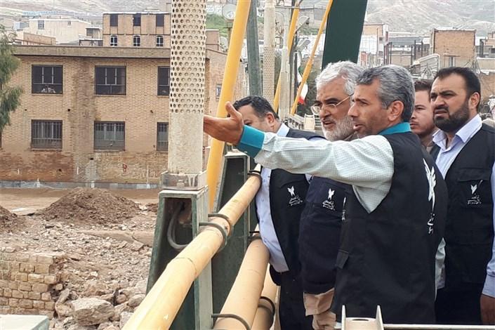 گزارش اختصاصی ایسکانیوز از حضور رئیس دانشگاه آزاد اسلامی در پلدختر