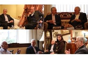 وزیر علوم میهمان منزل ۴ استاد برجسته دانشگاههای کشور