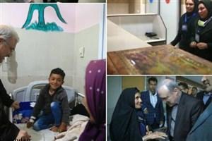 بازدید شبانگاهی وزیر بهداشت از ۲ بیمارستان زرین دشت و داراب