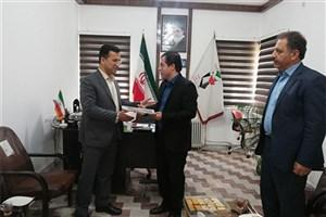 دیدار رئیس دانشگاه آزاد اسلامی بوکان با رئیس بنیاد شهید و امور ایثارگران