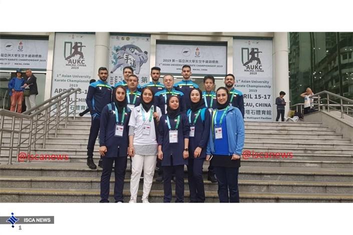 مدال طلا آسیایی در انتظار دانشجویان ایرانی گزارشی ازروحیه بالای کاراتهکاران دانشگاه آزاد در مسابقات آسیایی 2019 چین + ویدیو