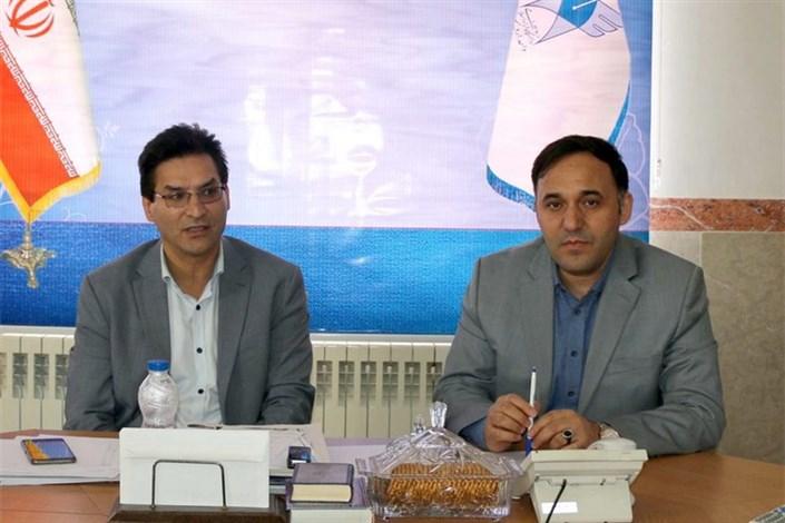 دیدار دکتر رسولی با رئیس پارک علم و فناوری استان اردبیل