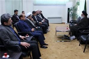 مسئولان واحد کرج با نماینده ولی فقیه در استان البرز دیدار کردند