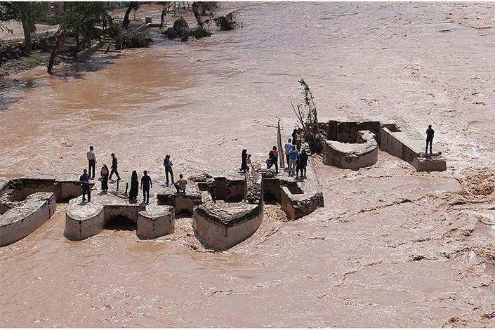 سیل حریف سازههای آبی ـ تاریخی دزفول نشد