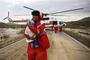 ۱۱ استان درگیر سیل و آبگرفتگی/امدادرسانی به ۱۴ هزار نفر
