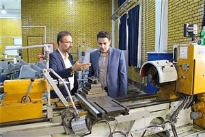 دانشگاه آزاد اسلامی واحد نجف آباد مجری طرح پایش در صنعت ذوب آهن اصفهان