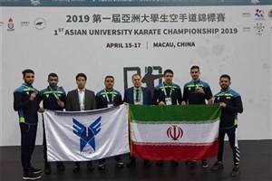 از نایب قهرمانی آسیایی کاراته کاران  تا بی پولی فدراسیون ملی ورزش های دانشگاهی