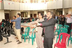 جشن بزرگ نیمه شعبان  همراه با ورزش صبحگاهی کارکنان و اساتید برگزار شد