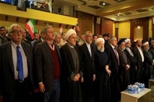 نشست نمایندگان مقاومت اسلامی در بیروت در حمایت از سپاه پاسداران