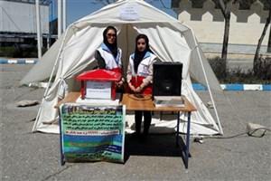 ارسال کمک های نقدی و غیر نقدی واحد تویسرکان به مناطق سیل زده استان لرستان
