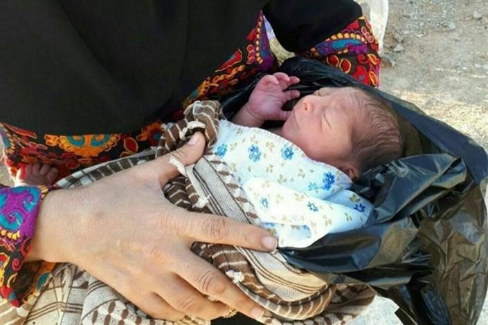 نجات مادران باردار در سیل
