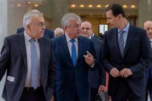 دیدار بشار اسد با نماینده ویژه پوتین در امور سوریه