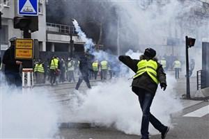 حضور دوباره جلیقه زردها در خیابان های پاریس