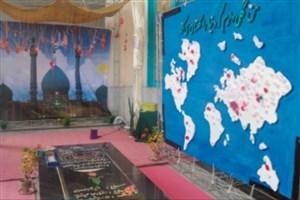 برپایی نمایشگاه طریقت المهدی (عج) در دانشگاه بیرجند