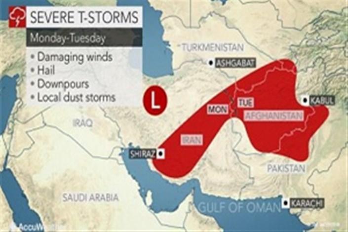 ایران بارش