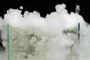 تبدیل عجیب بخار آب به یخ