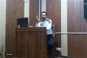 برگزاری دوره آموزشی پیشگیری از حوادث و سوانح رانندگی در واحد قشم