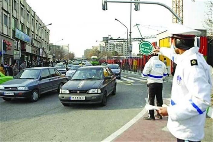 برخورد پلیس با خودروهای دود زا