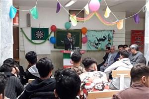 جشن اعیاد شعبانیه در هنرستان تربیت بدنی شهرستان شاهرود برگزار شد