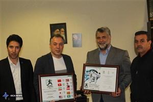 جام قهرمانی و نایب قهرمانی کاراته دانشگاه آزاد وارد ویترین افتخارات شد