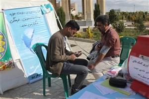 ایستگاه سلامت روان_جسم، به مناسبت هفته جوان و اعیاد شعبانیه برگزار شد