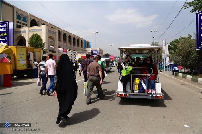 ششمین روز از سی و یکمین نمایشگاه بین المللی کتاب تهران