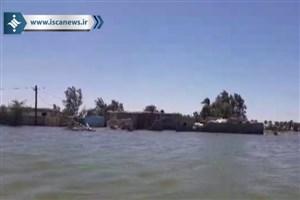 گزارش خبرنگار اعزامی ایسکانیوز از آخرین وضعیت منطقه سیلزده دشت آزادگان