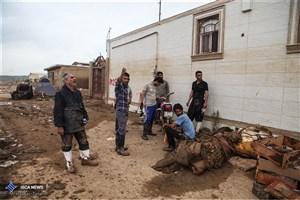 برقراری بیمه بیکاری  برای کارگران خسارت دیده از سیل گلستان