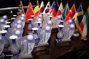 مراسم اختتامیه جام گلف دیپلمات ها برگزار شد/ امضای تفاهمنامهای برای سیلزدگان