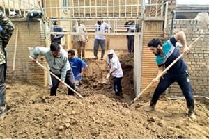 مناطق سیل زده خوزستان در مرحله پاکسازی و ترمیم قرار دارد/ ارتفاع ۱.۵ متری آب در برخی روستاها