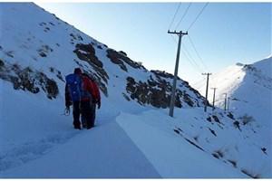 نجات ۵ کوهنورد از ارتفاعات امام زاده داوود